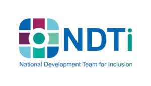 Logo for the National Development Team for Inclusion