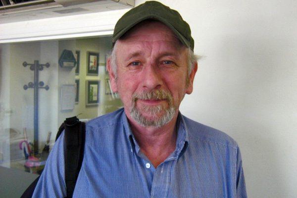 Paul Wilson of the Broadway Timebank